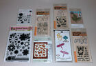 Lot of Dies  Clear Stamps Nature Themes Sizzix Hero Arts Recollections