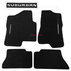 Fit 00-06 Chevy Suburban Tahoe 00-07 Chevy Silverado Floor Mats Front Rear