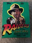 1981 Topps Raiders of the Lost Ark Complete 36 Sealed Packs Card Box. SEE PICS!!