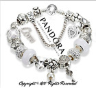 Authentic Pandora Charm Bracelet Silver LOVE STORY with European Charms New