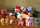Ty Beanie Babies Buddies Christmas Holidays Valentines Day Winter + Lot Retired