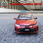 118 2019 TOYOTA COROLLA Diecast Car Model Red