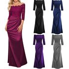 Women Lace Long Evening Dress Formal Party Ball Gown Prom Bridesmaid Dress Lot