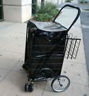 Water Proof Shopping Cart Liner With Top Lid Cover Shopping Cart Not Included
