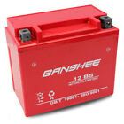 Replacement YTX12-BS Performance-Maintenance Free-Sealed AGM Motorcycle Battery