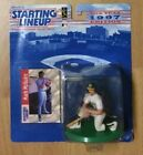 Sealed Pack 1997 Kenner Starting Lineup Figure & Card Mark McGwire Athletics