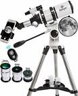 Gskyer Telescope 80mm AZ Space Astronomical Refractor Telescope German M7