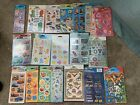NEW Lot of 50 Packs Mixed Stickety Doo Da Stickers Scrapbook Party Favors