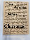 Just For Fun 1996 2003 Large Rubber Stamp Christmas Background Crafts Cards Art