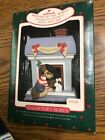 NEW 1988  Hallmark Windows Of The World Ornament French Boy & Dog Poodle