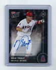 2016 Topps Now #OS-31B Mike Trout AL MVP Auto 03 99 LA Angels On Card Autograph