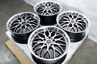 17 Wheels Volkswagen Beetle CC EOS Golf GTI Jetta Passat Rabbit Black Rims 5x112