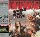Scorpions - World Wide Live (2015) BSCD2 Japan 50th Anniversary Deluxe Edition !