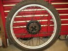 1980 XL250S FRONT WHEEL WITH GOOD TIRE HONDA XL XR CR 125 250 44601-430-000