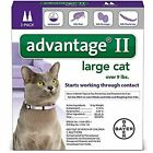 Advantage II Flea Control Large Cat for Cats over 9 lbs 2 Month Supplies 2 Pk