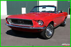1968 Ford Mustang Convertible 302ci V8 Auto New Power Top Power Steering 1968 Ford Mustang Convertible