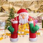 11 Christmas Huge Inflatable Santa Arch Archway Blown Air Holiday Outdoor Decor