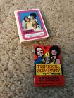 1978 Topps Three's Company Complete 44 Stickers Card Set & Wrapper. NM M
