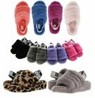 Authentic UGG Soft Fluff Yeah Slide Slippers Womens Shoe Sandal Different Color
