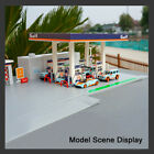 164 Scale DIY Assembly GULF Gas Station 1 64 Diecast Car Model Kits