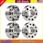 4pc 2 1 2 x 20 5X5 Hubcentric Wheel Spacers For 99 17 Jeep JK Wrangler Grand