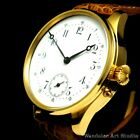 Blancpain Vintage Men's Wrist Watch Gold Noble Design Classic Mens Wristwatch