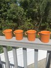 Fiesta Tangerine Mugs NEW! Set Of 4! LIMITED Supply! 10 1/4oz mug!