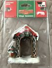 Coventry Cove Christmas Village Arbor Archway Walkway Arch Accessory Piece New