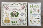 Susan Branch Stickers May Mothers Day Home Sweet Home Scrapbook Cards Crafts