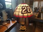 The Memory Company 20 Tony Stewart Tiffany Style stained Glass Table Lamps