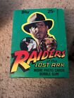 1981 Topps Raiders of the Lost Ark Near Complete Card Box (35 36 Unopened Packs)
