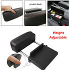 Universal Car Center Console Armrest Storage Box Height Adjustable Elbow Support