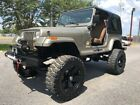 1988 Jeep Wrangler SAHARA 1988 JEEP WRANGLER SAHARA LIFTED 4X4  5.7 V-8 FUEL INJECTED BEAUTIFUL !!!