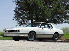 1983 Chevrolet Monte Carlo SS 1983 Chevrolet Monte Carlo SS 1,323 Miles White Coupe V8 Automatic