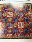 BLENDED STARS Quilt pattern from magazine piecing 75x75
