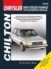 Repair Manual-Base Chilton 20700