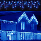 10 100FT LED Christmas Fairy Icicle Home Curtain Lights Lamp Xmas Indoor Outdoor