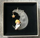 Hallmark Tree-Trimmer Ornament -A Heavenly Nap Angel Moon Star Vintage