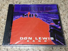 NEW & SEALED CD DON LEWIS BAND SELF TITLED 1996 DETONATOR RECORDS HARD TO FIND!