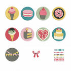 Sizzix Thinlits Die Set 13PK Mini Sweet Treats by Courtney Chilson 663620