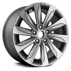 17 HYUNDAI SONATA 2015 2016 2017 BRAND NEW FACTORY OEM GREY WHEEL RIM 70877