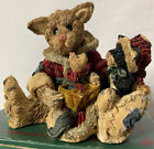 Boyds Bears Cookie The Santa Cat First Edition 1994 Christmas Mouse Gift Present