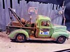 124 Scale Diecast Custom Weathered  Rusted Mikes Towing1940 Ford Tow Truck