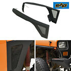 EAG Front Fender with LED Eagle Lights Offroad Fit 87 96 Jeep Wrangler YJ