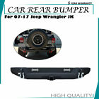 Textured Rear Bumper for 07 17 Jeep Wrangler Hitch Receiver20W LED lights A2