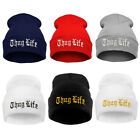 Thug Life Knit hat Beanies Knitted Hat Winter Warm Hat Hip Hop Hat Skullies Cap