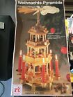 Old Style Weihnachts Pyramide German Christmas Nativity 4 Tier Windmill