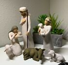 26005 Willow Tree Nativity sculpted hand painted nativity figures 6 piece set