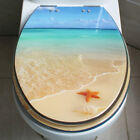 D16 Sea World Urea Resin Bathroom Accessories Safety Toilet Cover Seat Lid Q