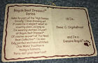 Boyd's Bear Emma C. Crystalfrost Style# 93751V The Head Bean Collection Tag Only